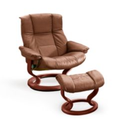 stressless sessel modell mayfair mit hocker ekornes ebay. Black Bedroom Furniture Sets. Home Design Ideas